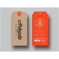 eticheta carton orange