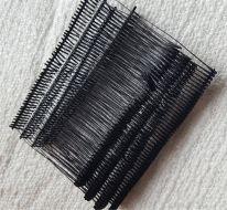 fire de plastic negre - 45 mm - 10.000 buc.